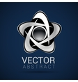 Logo shape set 3d style element design abstract vector