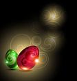 Glowing egg vector