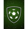 Football badge vector