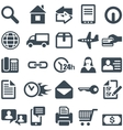 Icons for the web site or mobile app vector