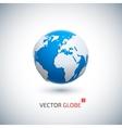 3d realistic globe icon vector