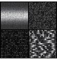 Metal texture set vector