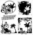 Summer banners vector