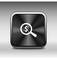 Magnifier with dollar sign money business sign sym vector