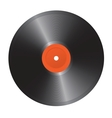 Vinyl record isolated on a white background vector