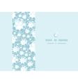 Shiny diamonds horizontal frame seamless pattern vector