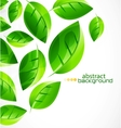 Nature green concept background vector