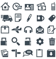 Universal set of icons for mobile applications and vector