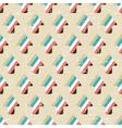Grunge arrow seamless pattern vector