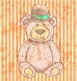 Teddy hat vector