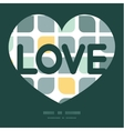 Abstract gray yellow rounded squares love vector