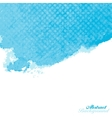 Blue abstract watercolor paint splashes vector