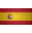 Grunge flags - spain vector