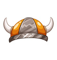 A vikings hat vector