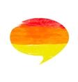 Abstract watercolor splash banner vector