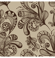 Seamless great floral background vector