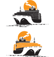 Containership vector