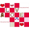Love puzzle vector