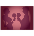 Wine tasting background vector