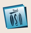 Surf design vector