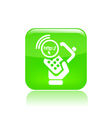 Phone connection icon vector