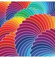 Color wheel background vector