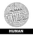 Human vector