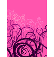 Abstract swirl ornament vector