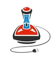 Computer joysticks vector