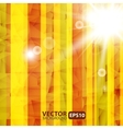 Abstract striped background with sunburst flare vector