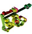 Abstract gear wheels vector