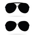 Sunglasses black vector