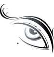 Artistic eye vector
