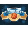 Basketball tournament vector