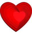 Image of the heart holiday of love vector