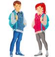 Teenager vector