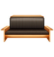 A living room furniture vector