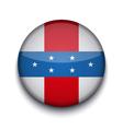 Creative circle flag on white background eps10 vector