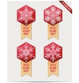 Set of christmas decorations for your office vector