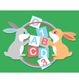 2 hares learning vector