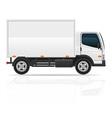 Small truck 02 vector