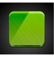 Mobile app empty icon  button design vector