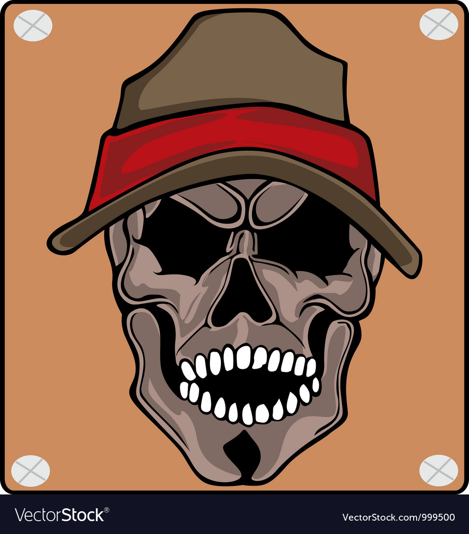 Wear skull caps vector | Price: 1 Credit (USD $1)
