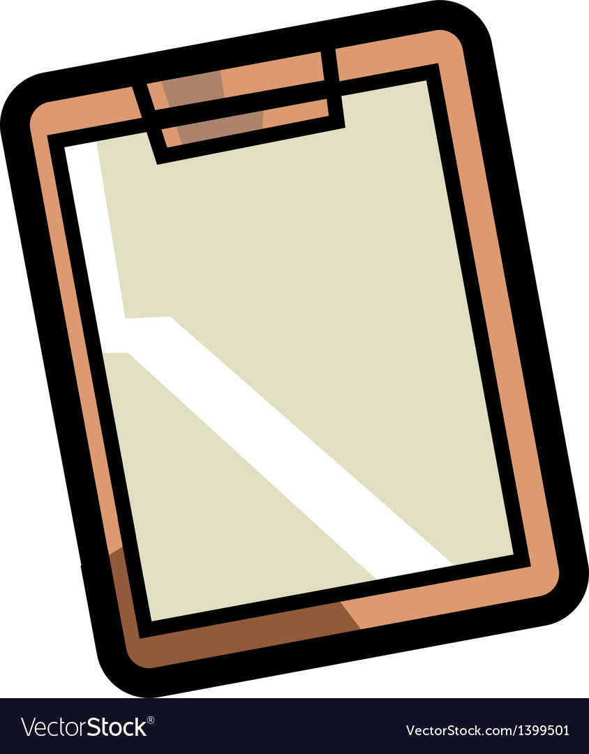 A paperclip is placed vector | Price: 1 Credit (USD $1)