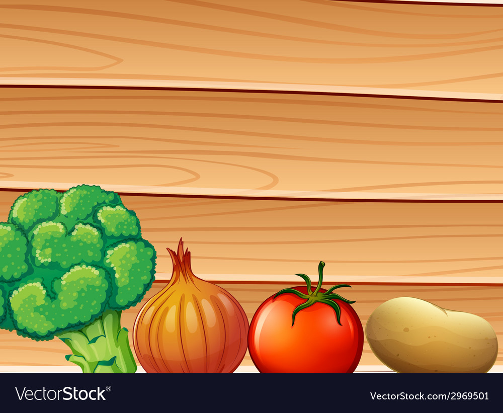 A wooden wall at the back of the spices and vector | Price: 1 Credit (USD $1)