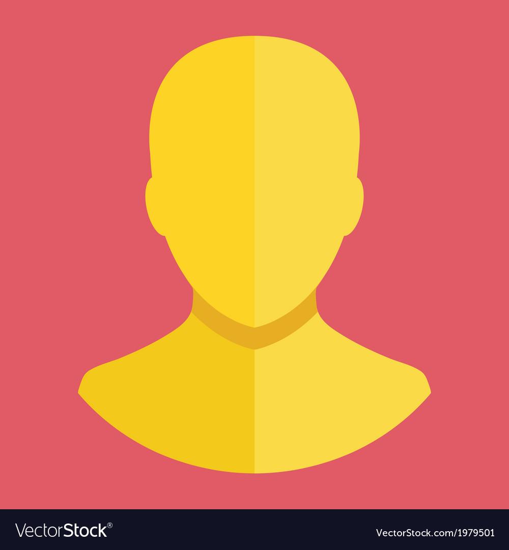 Avatar profile account icon vector | Price: 1 Credit (USD $1)