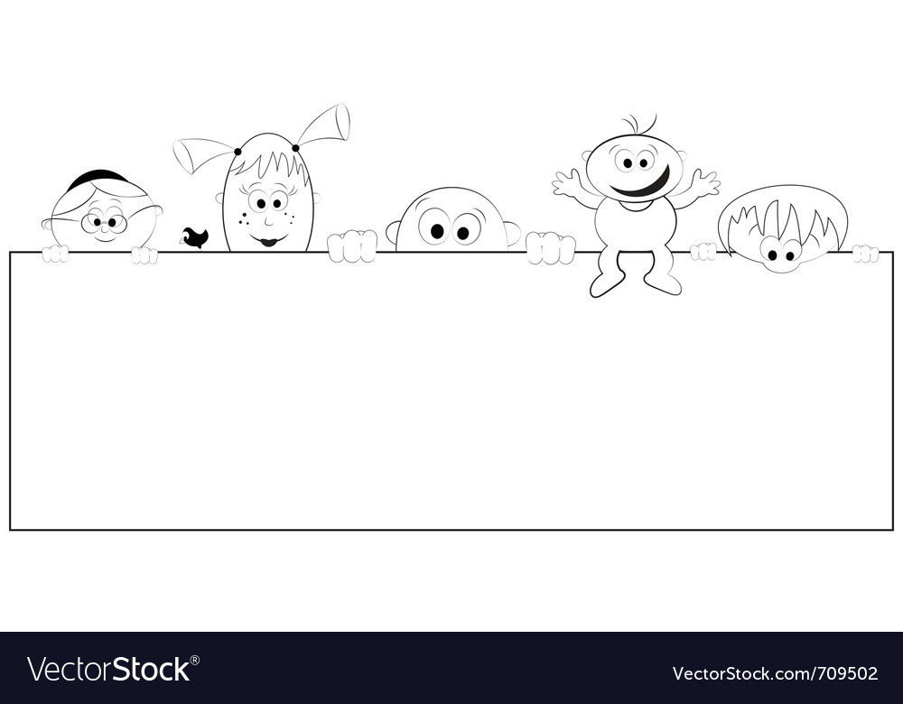 Group of happy people vector | Price: 1 Credit (USD $1)