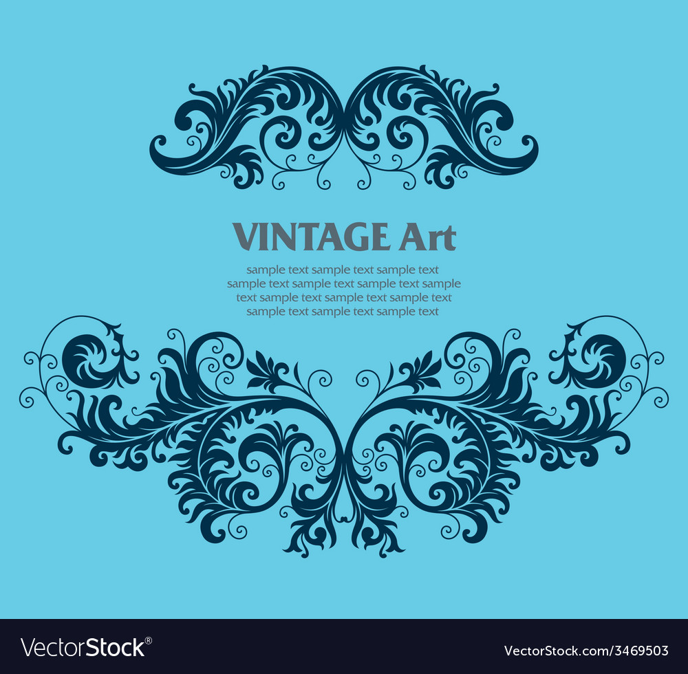 7floral line 40 2 vector | Price: 1 Credit (USD $1)