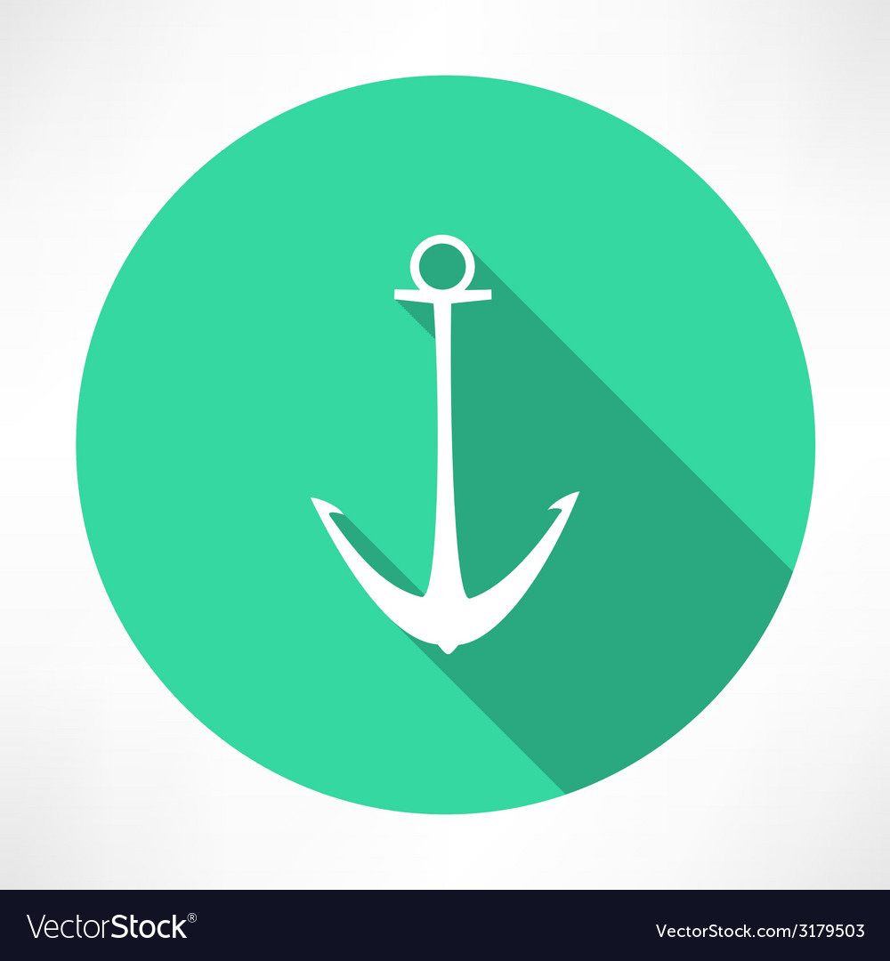 Anchor icon vector | Price: 1 Credit (USD $1)
