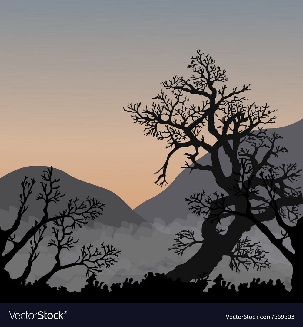 Asian nature vector | Price: 1 Credit (USD $1)